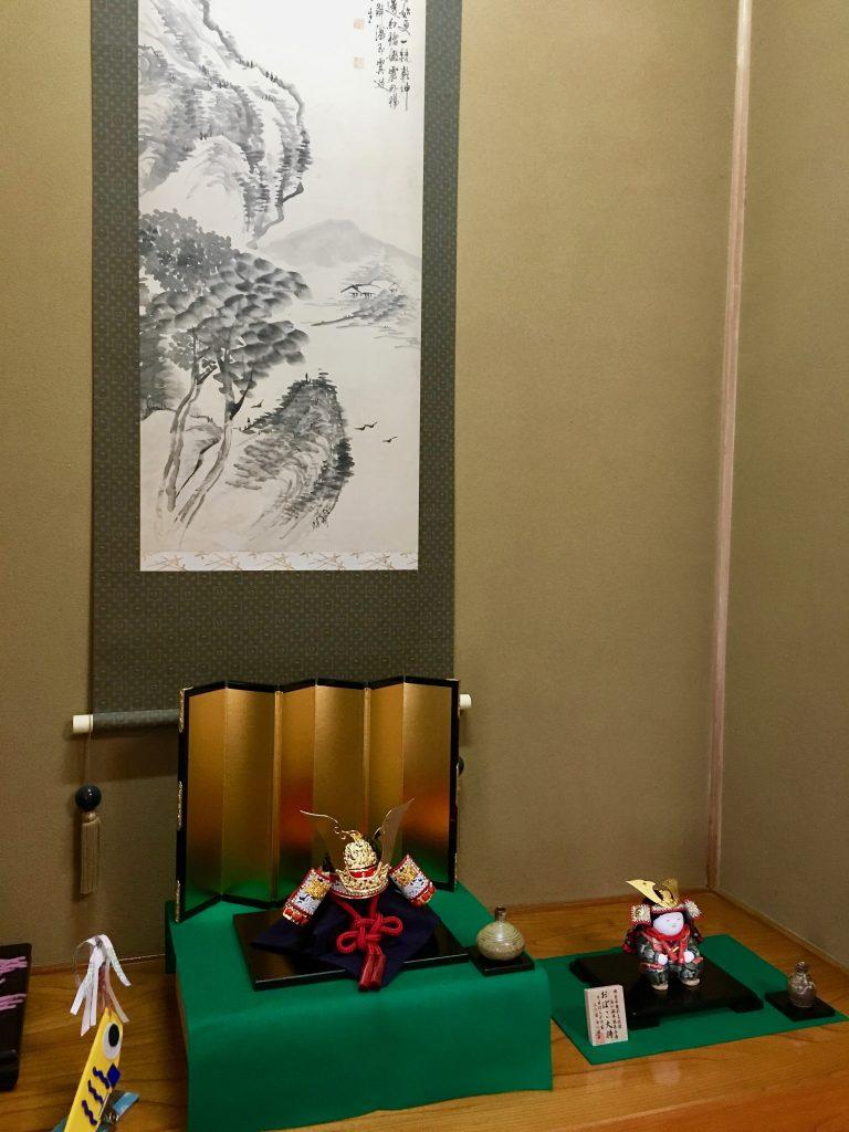 五月人形 端午の節句 初節句 兜 力石甲人 おぼこ大将 石川潤平 兄弟飾り