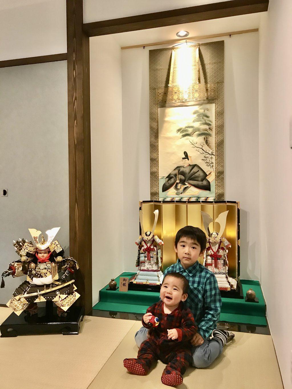 長野市 凱理くんの大鎧♫