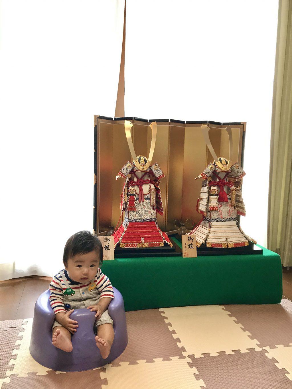 長野市 駿太くんの大鎧♫